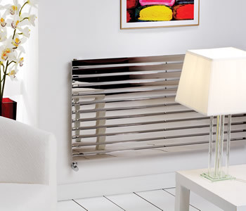 Kartell Florida Polished Stainless Steel Radiators