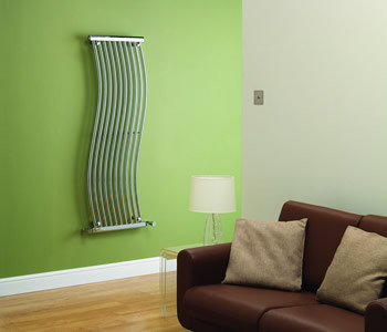Kartell Miami Chrome Designer Wave Radiators
