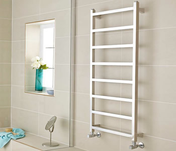 Kartell Connecticut Square Stainless Steel Towel Rails