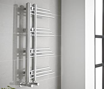 Kartell New York Chrome Designer Towel Rail