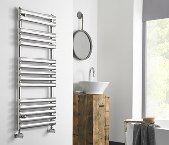 Kartell Ohio Polished Stainless Steel Towel Rails