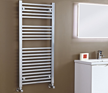 Phoenix Sophia Chrome Square Towel Rails