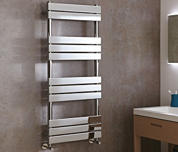 Phoenix Sorento Chrome Flat Panel Towel Rails
