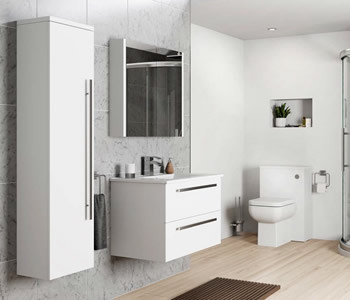 Kartell Purity White Bathroom Furniture