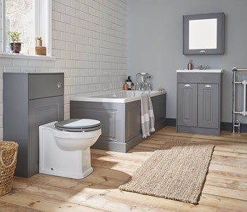 Kartell Astley Stone Grey Bathroom Furniture