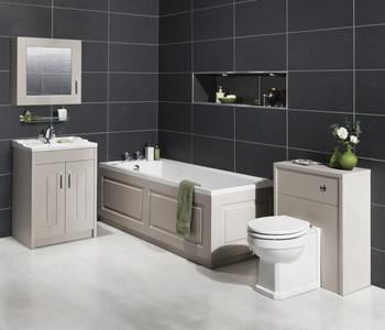 Kartell Astley White Ash Bathroom Furniture