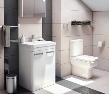 Kartell Options White Bathroom Furniture