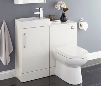 Kartell Liberty White Bathroom Furniture