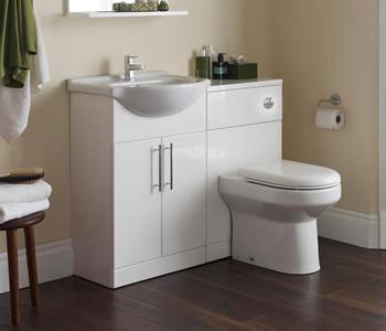 Kartell Encore White Bathroom Furniture