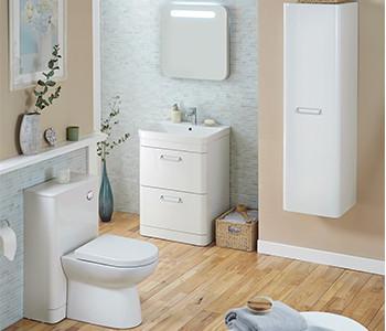 Kartell Metro White Bathroom Furniture