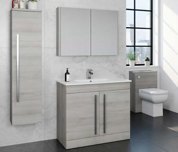 Kartell Purity Grey Ash Bathroom Furniture