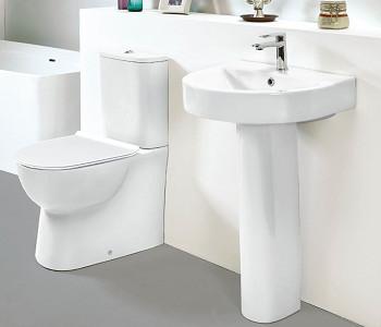 Phoenix Curve Toilets and Basins