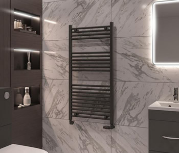 Eastbrook Wingrave Anthracite Towel Rails