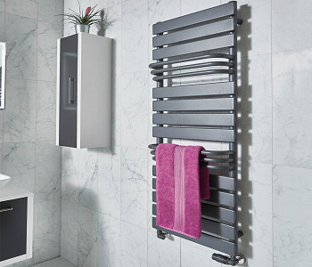 Phoenix Lift Anthracite Towel Rail