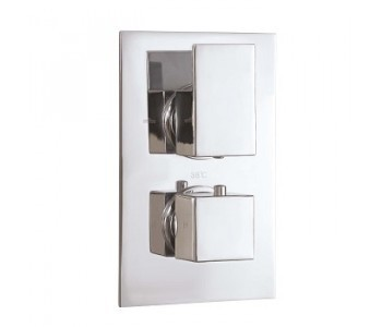 Twin Thermostatic Shower Valves