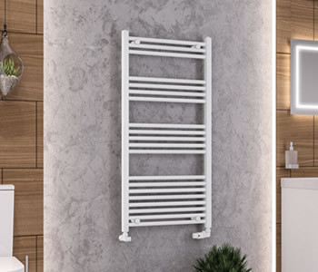 Eastbrook Wendover White Towel Rails