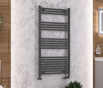 Eastbrook Wendover Anthracite Towel Rails