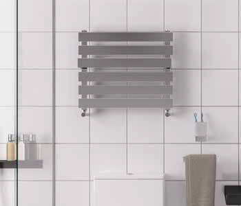 Eastbrook Ascona Designer Stainless Steel Towel Rail