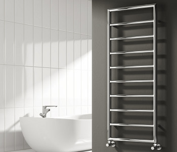 Reina Nardo Designer Chrome Towel Rails