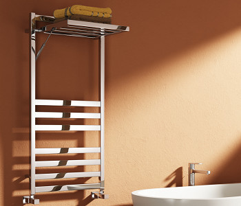 Reina Porte Chrome Designer Towel Rail Rack