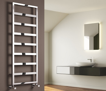 Reina Rezzo Chrome Designer Towel Rails