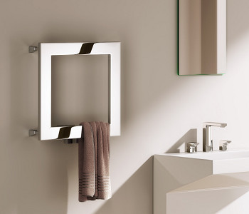 Reina Square Stainless Steel Designer Towel Rail