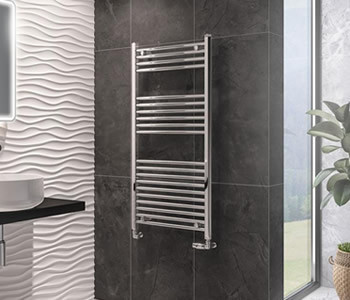 Eastbrook Wingrave Chrome Towel Rails