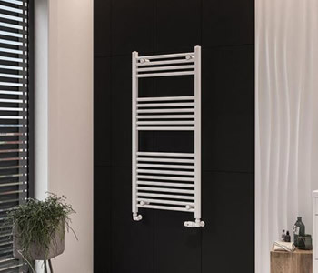 Eastbrook Wingrave Matt White Towel Rails