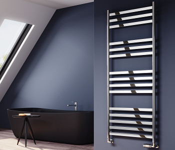 Reina Misa Polished Stainless Steel Towel Rails