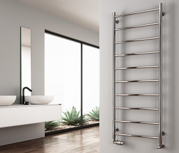 Reina Savio Polished Stainless Steel Towel Rails